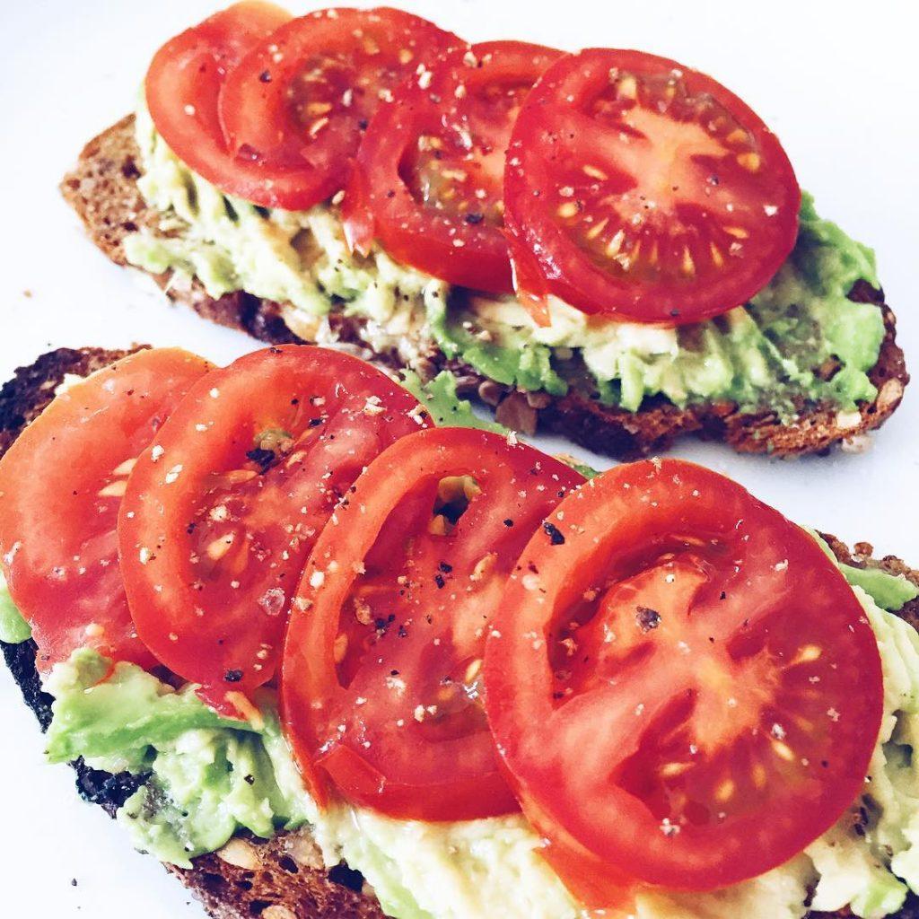 heute voll das healthyfood instafood