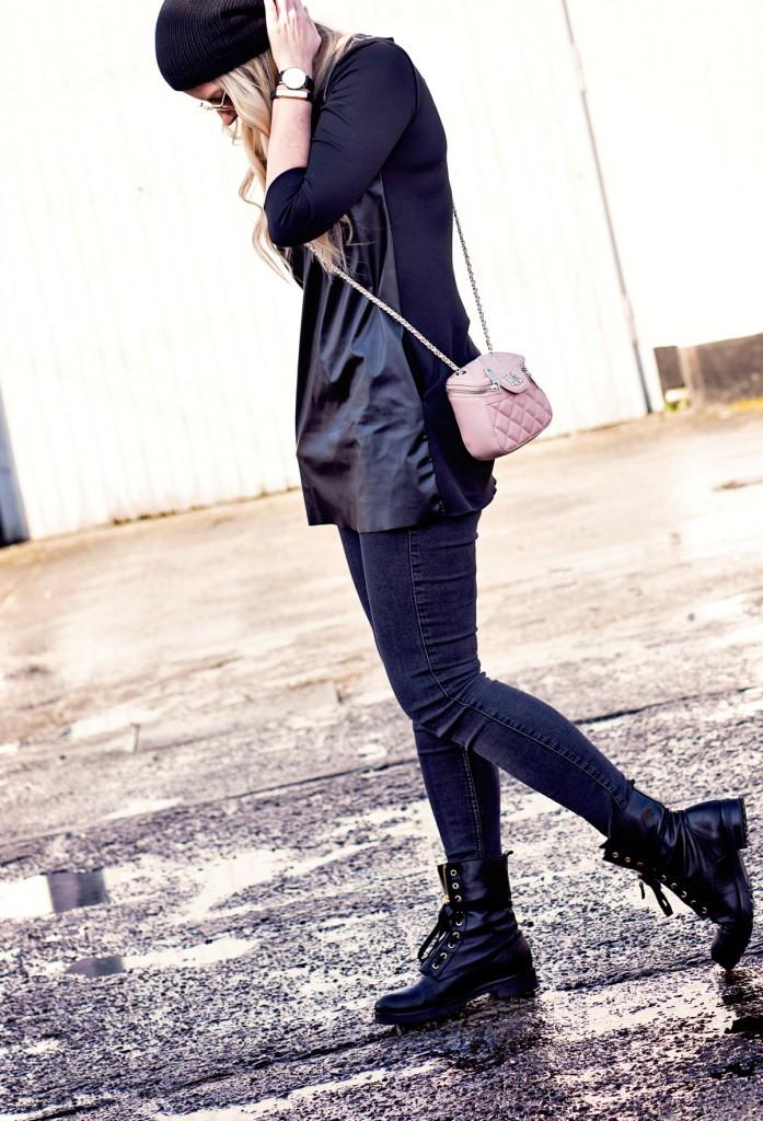 kibadoo MAbinta kleid a linie frau liebstes lederoptik fashion-3